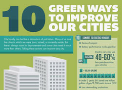 City Improvement Ideas – 10 Green Ways To Improve Cities